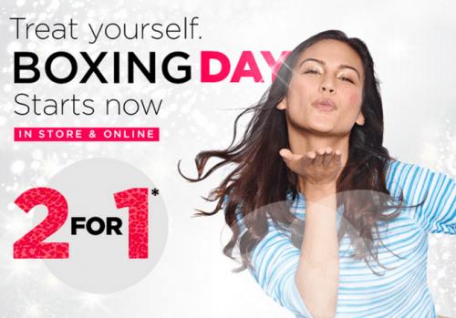 La Vie en Rose Canada Boxing Day Offers