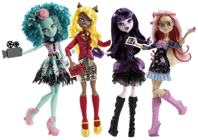 Monster High - Frights Camera Action Doll