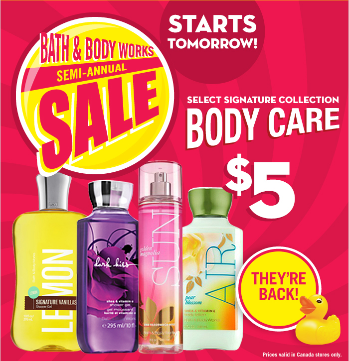 bath body works canada. Bath   Body Works Canada Boxing Day Week Sale   Coupon   Canadian