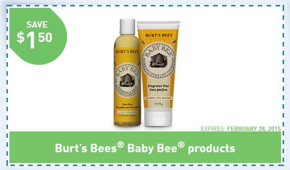 Burts bees baby coupon code