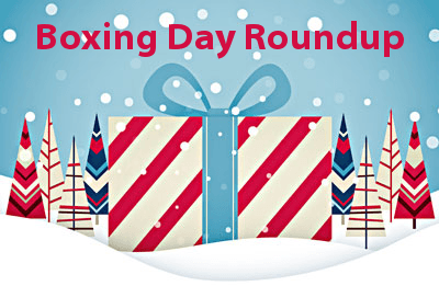 Boxing Day Deals. Boxing Day is over but that doesn't mean the deals are. Whether you're on the hunt for a new TV or the perfect watch, don't miss out on .