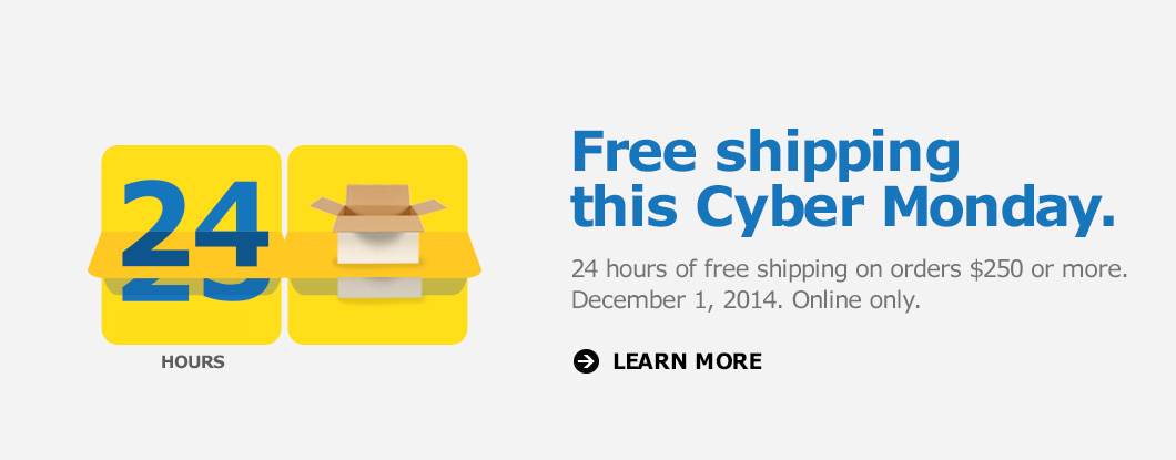 Ikea Cyber Monday Canada 2014 Offer Free Shipping When