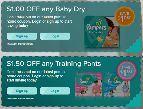 Coupons for diapers and wipes canada