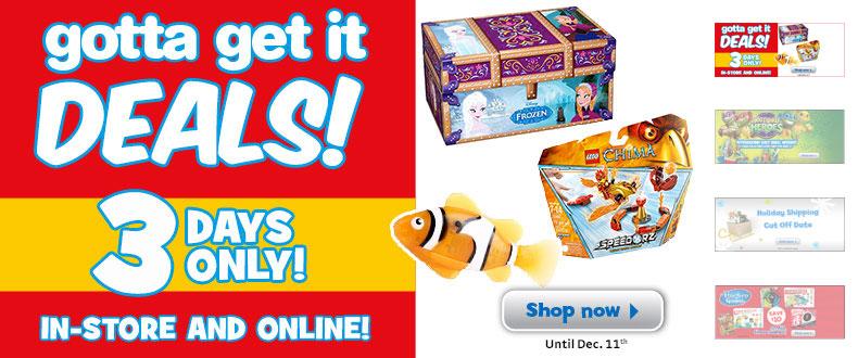 Online shopping deals canada