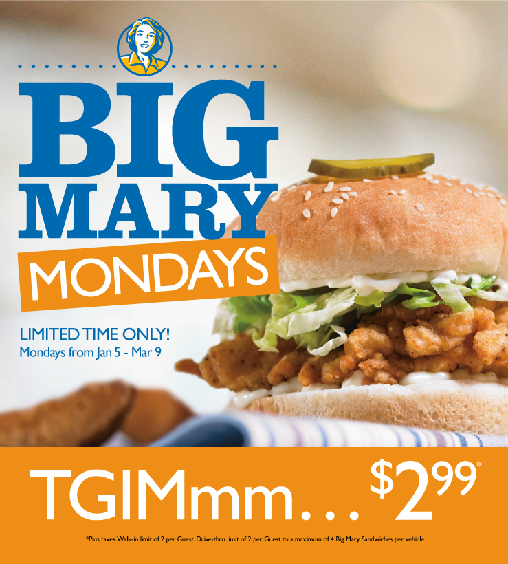 Mary brown coupons