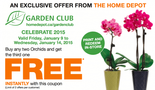 Home Depot Canada Garden Club Printable Coupons Buy Any