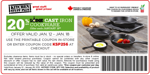 lodge cookware coupons