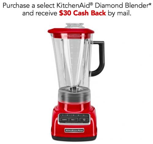 KitchenAid Canada Rebate fers Buy a KitchenAid Diamond