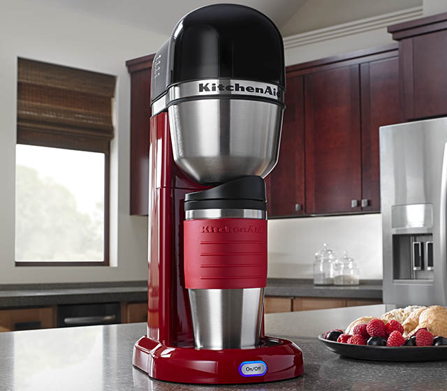 Kitchenaid 4 Cup Personal Coffee Maker Empire Red 50