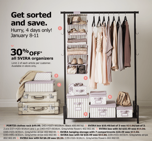 unnamed. IKEA Canada 4 Day Sale  Save 30  Off on All SVIRA Organizers Until