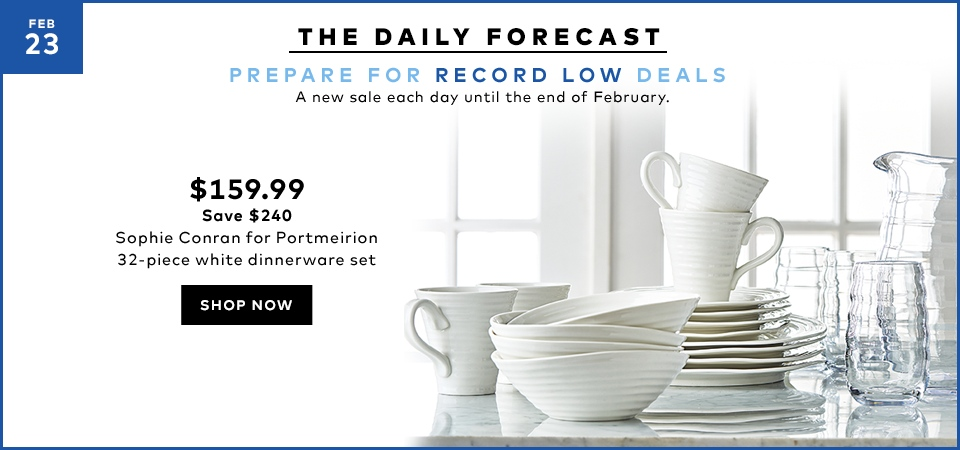 Hudson\'s Bay Canada Daily Forecast Deals: Save $240 on Sophie Conran ...