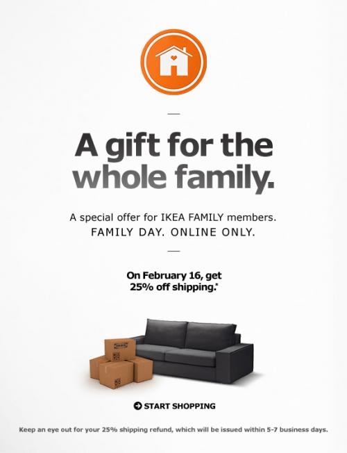 Ikea family deals canada