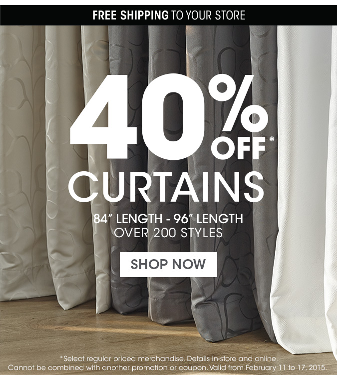 Bouclair Home Canada Save Up To 40 Off On Curtains Canadian