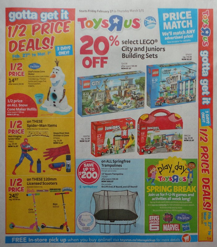Ontario Flyer Sneak Peeks February 27th March 5th Toys