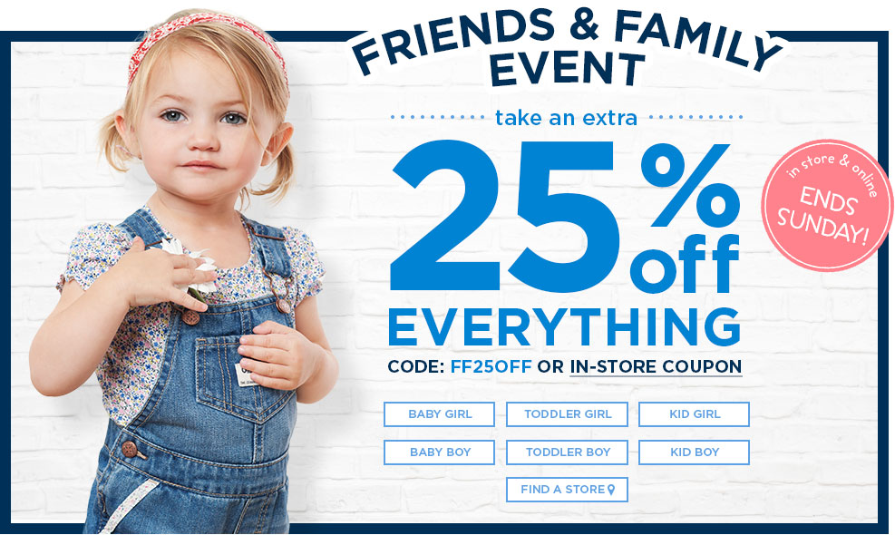 Well, hold onto that onesie, because a Carter's Canada coupon can put even more of the cutest, cuddliest clothes for infants, babies and toddlers in your hands. With a Carter's Canada promo code, you can get the best deals on Carter's Canada and all the Osh Kosh B'Gosh clothes, shoes and accessories your child needs.