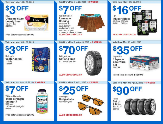 Costco Canada Weekly Instant Handouts Coupons Flyers For Eastern