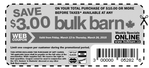 Screen Shot 2015 03 13 at 8.36.29 AM 500x231 Bulk Barn Canada Coupons: Save $3 On Your Total Purchase Of $10 Or More, March 13 to 26