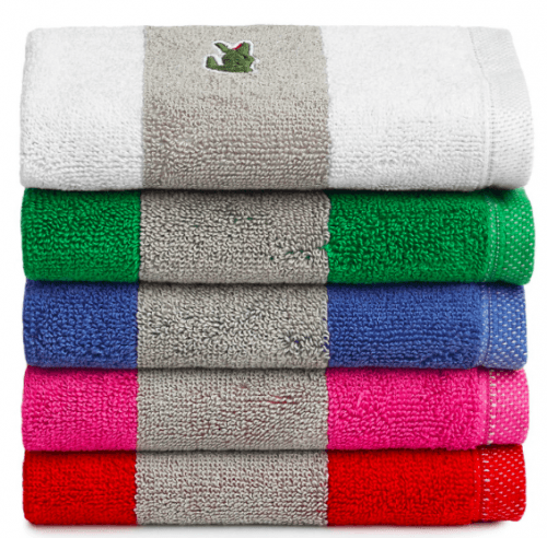 Lacoste Towels Clearance