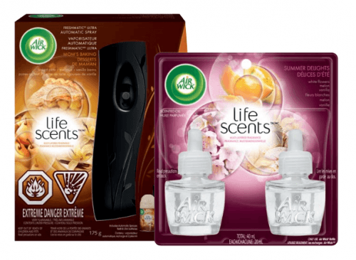 airwick lifescents sc