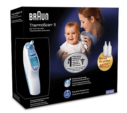 Coupon for ear thermometer