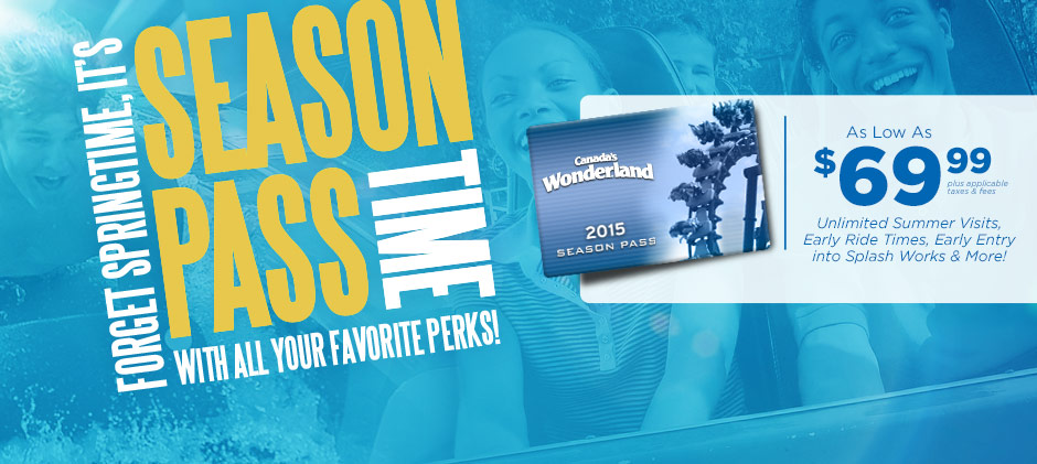 Day Passes are now on sale! Start the savings and fun by purchasing yours today!