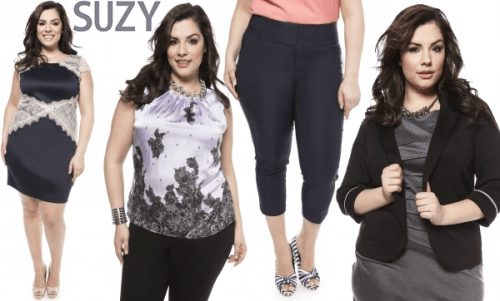 Suzy Shier Now Carrying Plus Size Clothing | Canadian Freebies ...