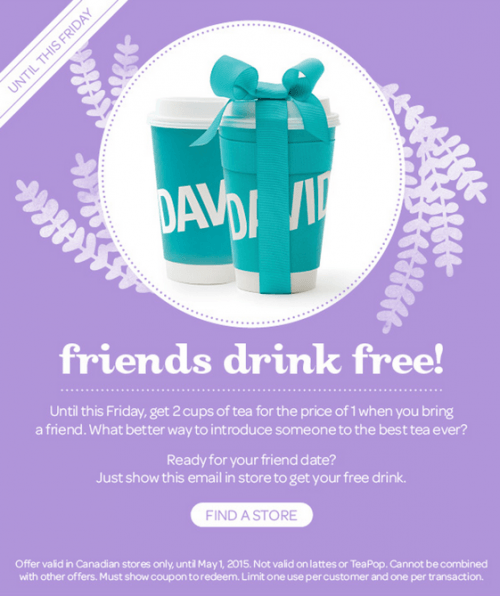 davids tea coupon code 2019