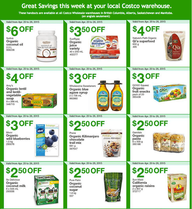 Costco canada weekly instant handouts coupons flyers for british