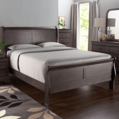 Greystone Sleigh Bed Frame Sears