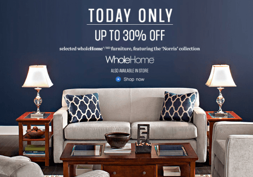 sears canada one day sale whole home. Sears Canada One Day Sale  Up to 30  Off WholeHome Furniture and