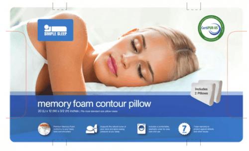 best-buy-canada-simple-sleep-memory-foam-pillow