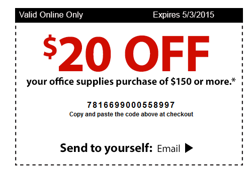 Staples coupon codes canada