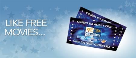 cineplex ticket Cineplex Canada Freebies: Free Cineplex Movie Voucher with Visa Checkout