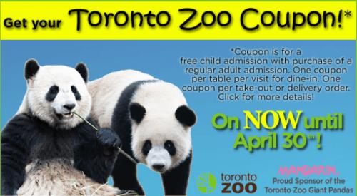 Toronto zoo discount coupons 2019