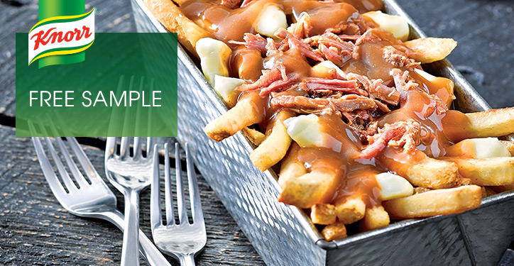 Unilever Canada Freebies: FREE Sample of Knorr Poutine Gravy ...