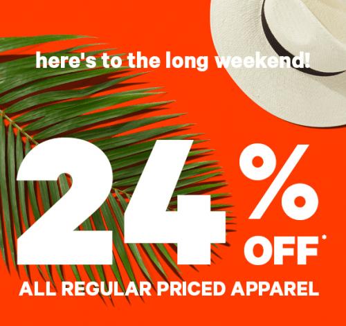 joe-fresh-canada-long-weekend-24%-off-sale
