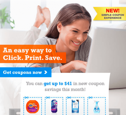 P and g everyday coupons