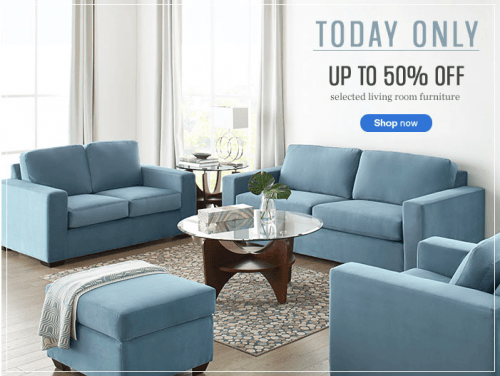 Sears canada flash sale save up to 50 off on select living room furniture canadian freebies for Sears canada furniture living room