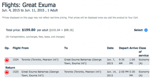 air-canada-vacations-george-town-toronto