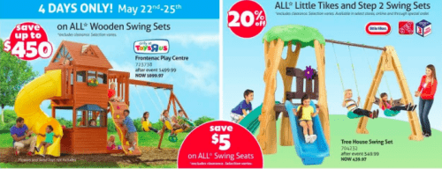Save toys r us swingsets to get e-mail alerts and updates on your eBay Feed. + Results matching fewer words Oficial Toys R Us Store Map Memorabilia - Merchandise souvenir.