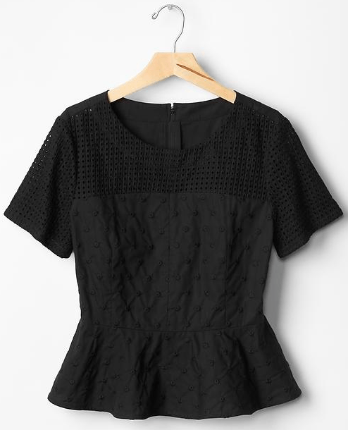 gap-canada-25%-off-sale-peplum-top