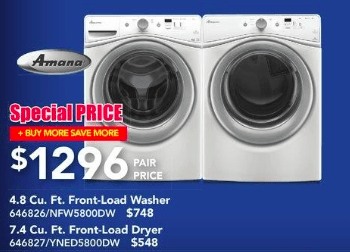 lowes-canada-buy-more-save-more-amana-washer-dryer