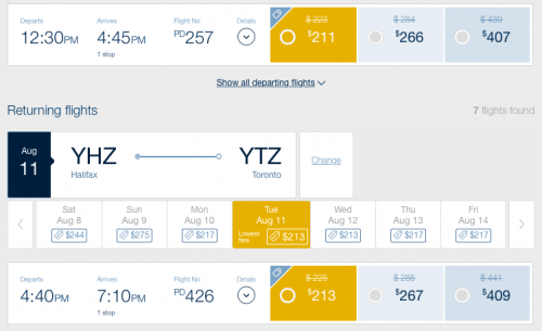porter-airlines-canada-seat-sale
