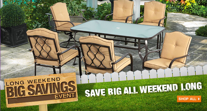 The Home Depot Canada Victoria Day Sale Up To 600 Off On Outdoor Living 45 Off On Lawn