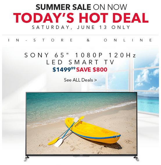 40 smart tv deals canada