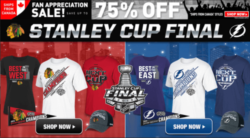 Shop nhl coupon codes