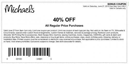 photograph regarding Craft Warehouse Printable Coupon titled Craft warehouse coupon codes retailmenot : Cupcake discount coupons toronto