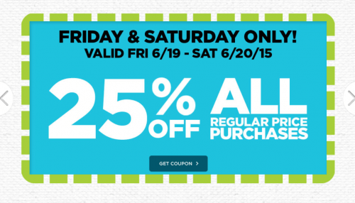 Michaels canada weekly coupons save 25 off all regular for Coupons michaels arts and crafts