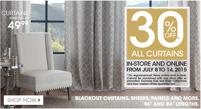 Bouclair Home Canada Offers Save Up To 50 Off Summer Sale 30 Off