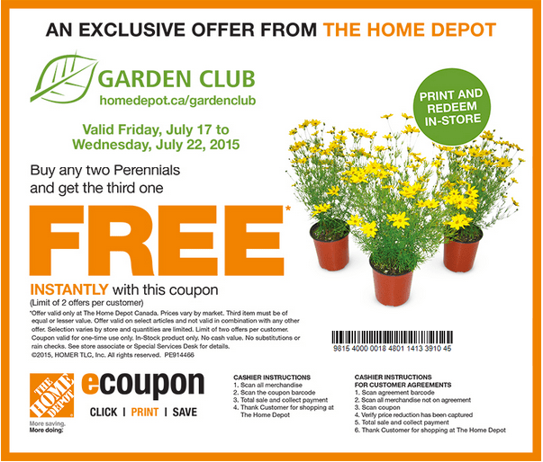 Canadian Deals Coupons Discounts Sales Flyers Hot Home And Garden Show  Coupons With Canadian Home And Garden